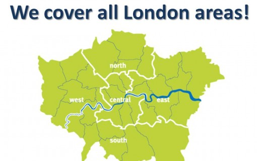 We cover all London areas